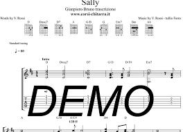 chitarra vasco vasco sally lezione chitarra accordi vasco fssdesign