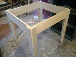 how to taper 4x4 table legs coffee table collection images of wooden table legs image concept