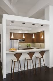 White Glass Kitchen Cabinets by Kitchen Awesome U Shape White Kitchen Decoration With White Wood