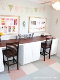 Pink Craft Room - 13 amazing craft room makeover u0027s happily ever after etc