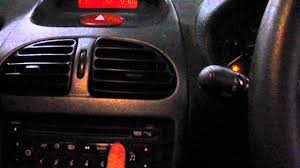 peugeot 206 clarion cd radio player rd3 rds ta 96552632xt inc