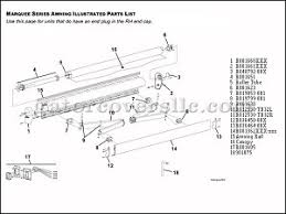 Rv Awning Parts Diagram Rv Awning Parts Marquee Window Awning End Cap Lh Pn R001660blk