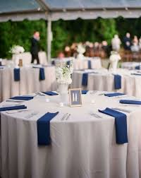 blue table decorations for wedding 10999