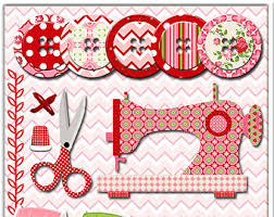 sewing clip art etsy