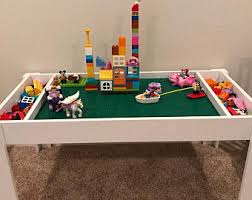 Activity Table For Kids Building Blocks Table Activity Table Train Table Kids