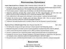 Nurses Resume Template Emergency Nurse Resume Sample Professional New Grad Resume Sample