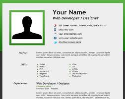 Create Resume Online by Make A Free Resume Online Resume Badak