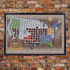 map usa framed framed magnetic cap map of the usa united states us