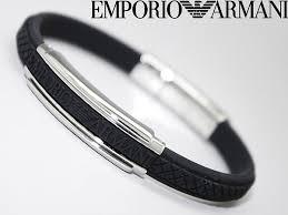 mens rubber bracelet images Woodnet rakuten global market emporio armani bracelet jpg