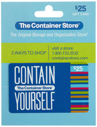 store gift cards the container store gift card 25 gift cards