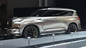 infiniti car qx80 2018 infiniti qx80 will get a new look same old powertrain