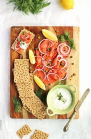 smoked salmon platter a healthy appetizer for