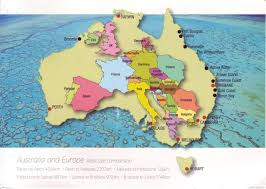 Take Me To Maps Map Overlays Comparing Size Business Insider In Of Australia With