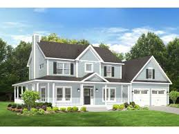 farmhouse wrap around porch home plan homepw76667 2102 square foot 3 bedroom 2 bathroom