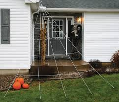 12 u0027 mega giant huge white spider web spiderweb yard decor