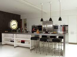 ilot central bar cuisine ilot central bar cuisine cuisine blanche et bois design et