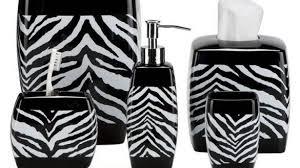 modern cheetah print bathroom set shower door cling leopard of