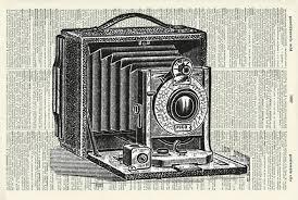 antique camera print victorian art photography art print