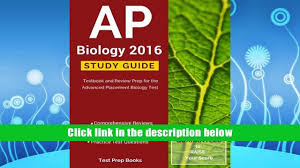 popular book ap biology 2016 study guide textbook and review prep