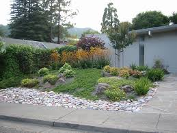Front Yard Landscape Ideas by Landscape Garden And Patio Low Maintenance Small Front Yard