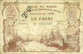chambre de commerce rouen billets de necessite francais rouen 76 ville et chambre de