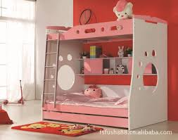 bedroom amazing with desk girls bunk beds with slide ideas girls