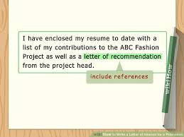 easy ways to write a letter of interest for a promotion wikihow