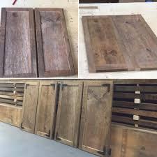 Barnwood Cabinet Doors by Custom Woodworks U2013 Jmf Custom Wood Features L Barndoors U2022 Feature