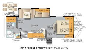 2017 forest river wildcat maxx 26fbs u2013 stock wm17019 the rv man