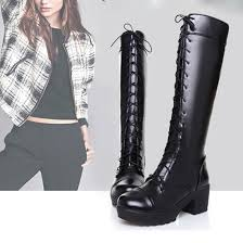 womens size 12 black combat boots white lace combat boots promotion shop for promotional white lace