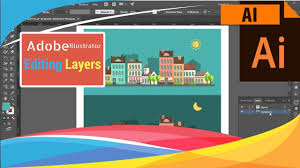 tutorial illustrator layers adobe illustrator cc 8 how to create and edit layers in adobe