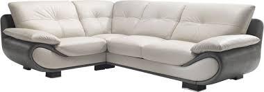 canapé cuir bicolore canapé d angle cuir nelia canapé d angle pas cher mobilier et
