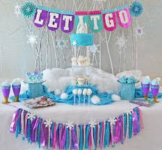 frozen party frozen party decor evite