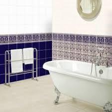 Edwardian Bathroom Ideas Edwardian Tiles 100x100 White Octagon And Black Dot With Norwood