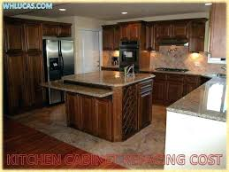 cost of kitchen cabinet doors kitchen cabinet refacing cost inventinganew me