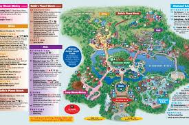 magic kingdom disney map walt disney park and resort maps photos