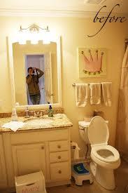 Yellow And Pink Bathroom Kristen F Davis Designs Princess Bathroom