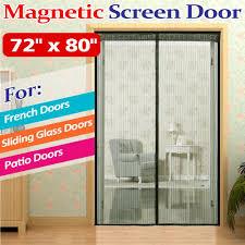 Patio Door Magnetic Screen Magnetic Screen Door For Sliding Glass Door Handballtunisie Org