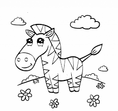 free preschool coloring pages zebra animal coloring pages of