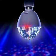 playlearn led full color crystal auto rotating disco dj stage