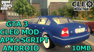 gta 3 apk android how to install gta 3 cleo mod apk android gta 3 cleo