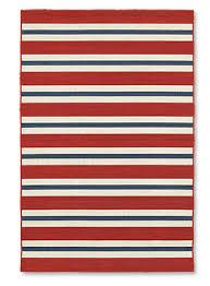 Stripe Indoor Outdoor Rug Striped Flat Weave Indoor Outdoor Rug Patriotic Stripe Indoor