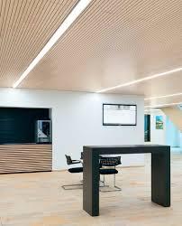 led light fixture linear recessed ceiling modular lighting