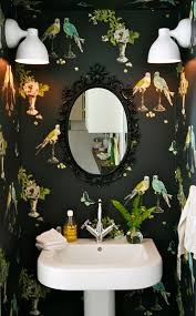 funky bathroom wallpaper ideas 74 best the chinoiserie powder room images on pinterest bathroom