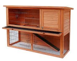 Advantek Stilt House Rabbit Hutch Amazon Com Merax Pet Rabbit Bunny Wood House Hutch With Abs Tray
