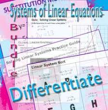 identifying special types of linear systems of equations inside