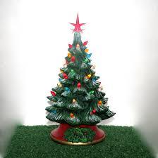 ceramic christmas trees with lights christmas lights decoration