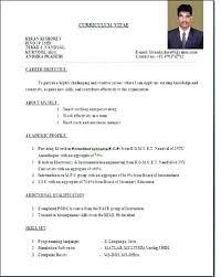 resume format doc sle resume format doc standard resume format doc resume