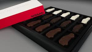 chocolate for s day nissan celebrates s day with online contest you can win