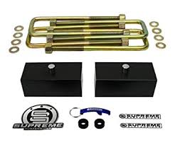 toyota tacoma suspension amazon com supreme suspensions tacoma lift kit 1 5 rear